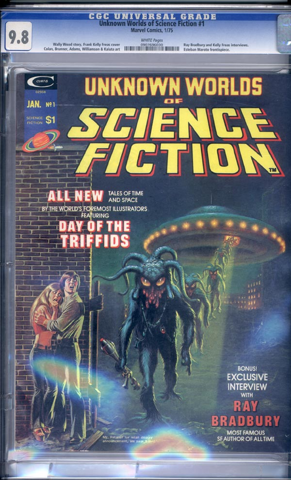 Image: Unknown Worlds of Science Fiction