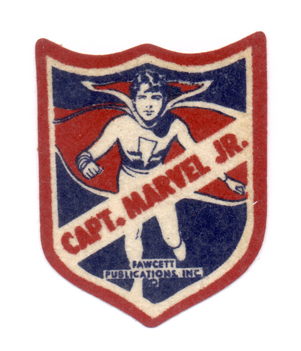 Image: Captain Marvel Jr Felt Patch