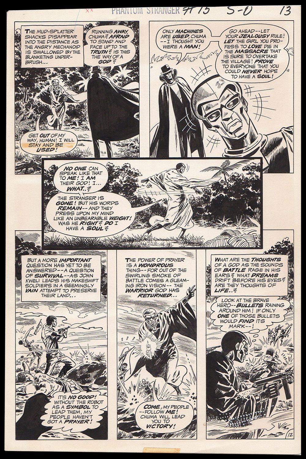Image: Phantom Stranger #15 page 15 art by Jim Aparo