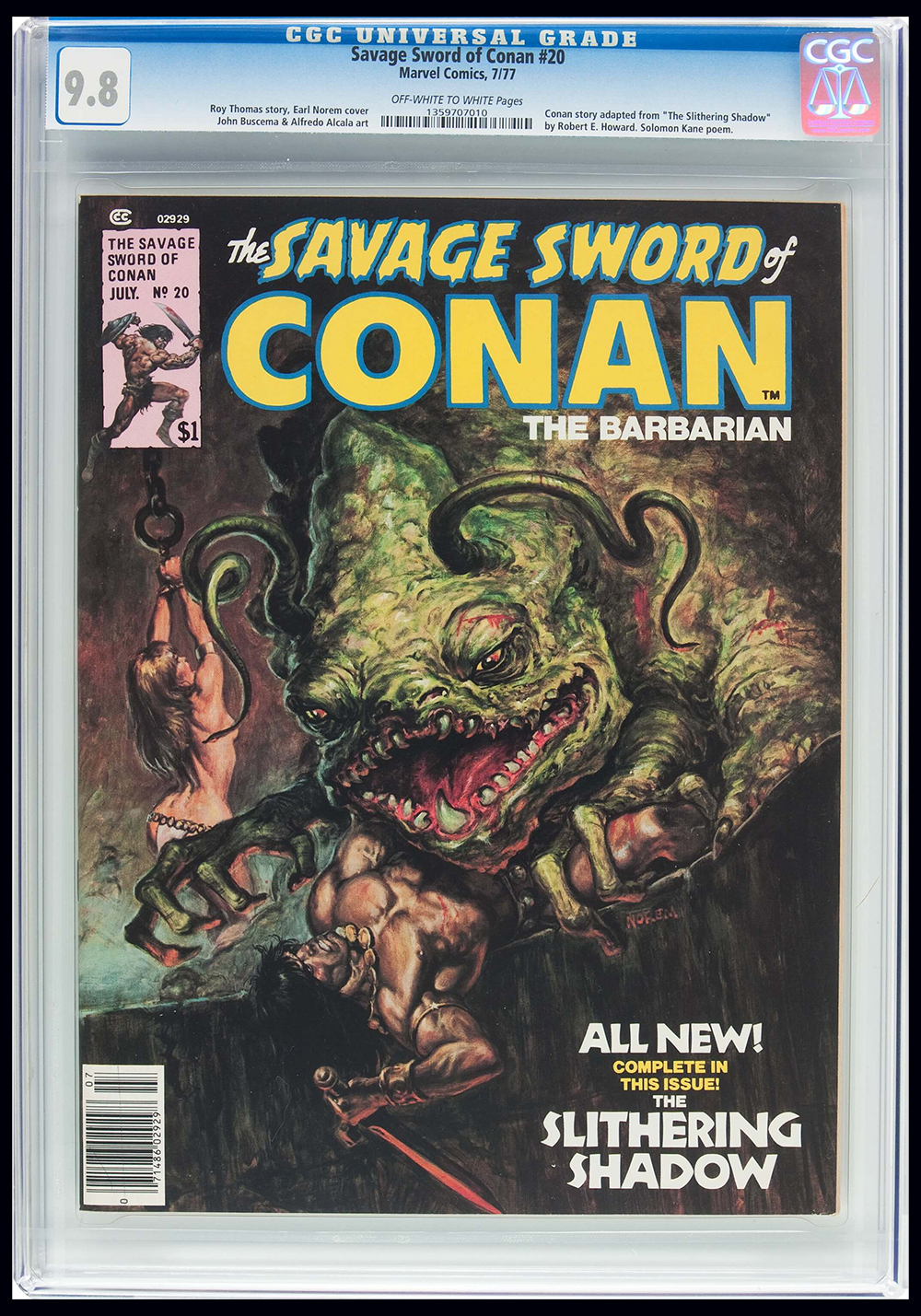 Image: Savage Sword of Conan