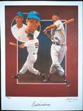 "Ted Williams ""Splendid Splinter"" Fine Lithograph"