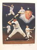 Mickey Mantle Fine Limited Edition Lithograph