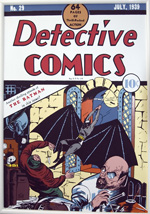 Ralph Vincelli re-creation for Detective Comics #29