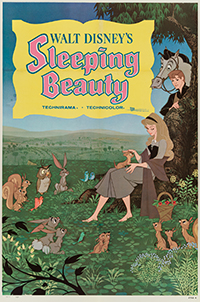 Sleeping beauty One Sheet Style B