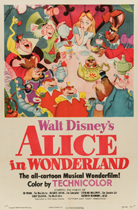 Alice in Wonderland One Sheet Poster