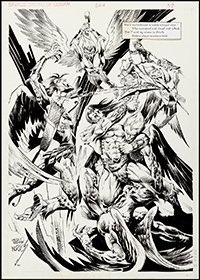 Savage Sword of Conan #228 Splash Art by Pablo Marcos