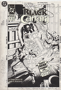 Black Canary #8 Cover Art by Trevor Von Eeden