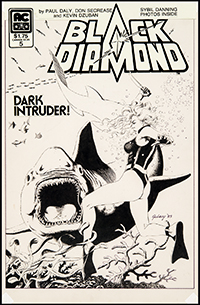Black Diamond #5 Cover Art by Paul Gulacy