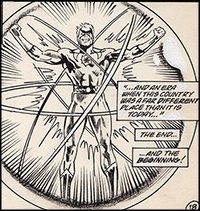Secret Origins #34 Art by Alan Weiss Origin Captain Atom