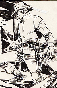 Jonah Hex #33 Art by E.R. Cruz