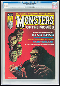 Monsters of the Movies #1