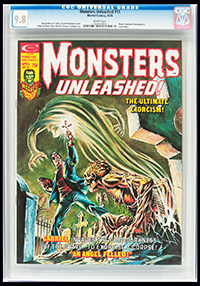 Monsters Unleashed #11