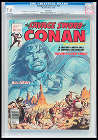 Savage Sword of Conan #36