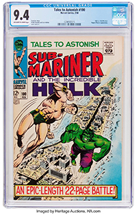 Tales to Astonish #100