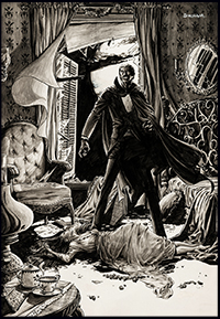 Tomb of Dracula #3 art by Jerry Bingham